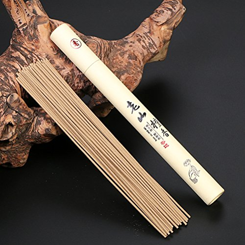 (Datingday Imported Chinese Retro Wormwood Sandalwood Incense Stick for Yoga Chakra Sleep Health 20g / Unit (Lao Shan))