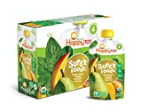 Happy Tot Organic Baby Food, Stage 4, Spinach, Mango and Pear, 4.0-Ounce Pouches (Pack of 16) image