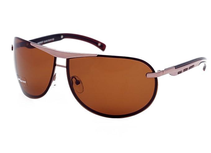 Matrix Collection Pilot/Aviator Gafas de sol polarizadas para conducir, pescar, color marrón claro, lentes antideslumbrante - Nuevo diseño: Amazon.es: Ropa ...