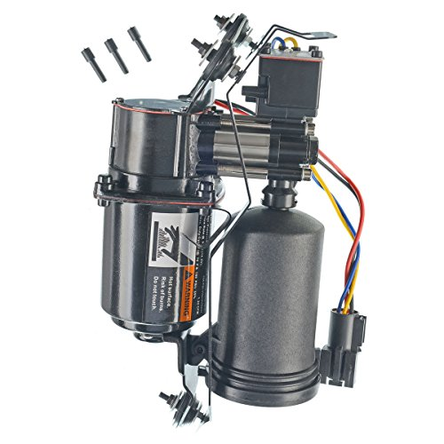 (A-Premium Air Ride Suspension Compressor for Lincoln Town Car 1998-2002 with Air Dryer)