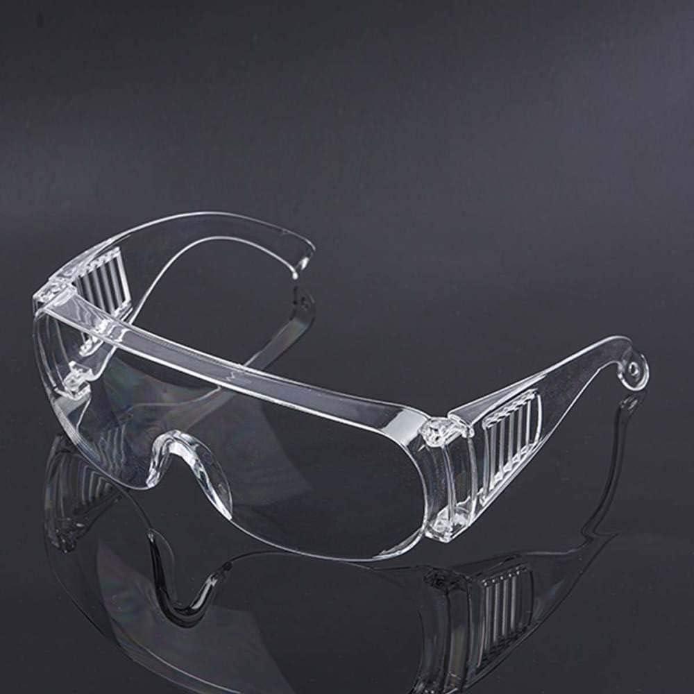 Gafas de seguridad Laboratorio Antipolvo Máscara de ojos transparente a prueba de viento Gafas protectoras de seguridad para el trabajo Protección ocular