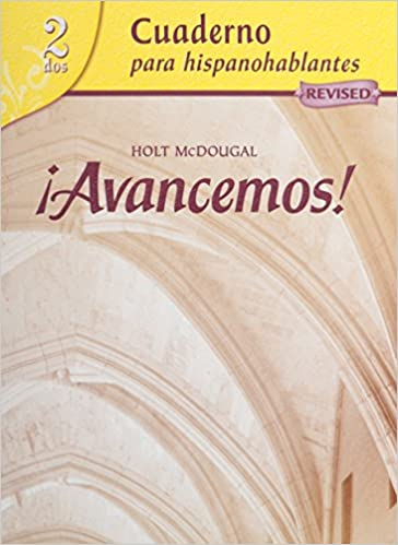 INSTALL ¡Avancemos!: Cuaderno Para Hispanohablantes (Student Workbook) With Review Bookmarks Level 2 (Spanish Edition). various Agustin virus gauge cargas