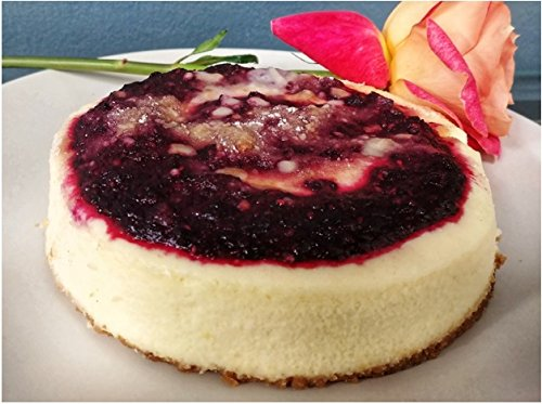 Triple Berry Streusel Cheesecake (Gluten Free Cheesecake)