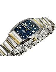 Xezo for Unite4:good Incognito Gold Pl. Tonneau Automatic Watch. Swiss Sapphire, Citizen Movt, Serial