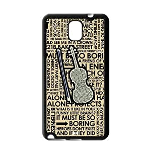 Fashion Hard Protective Gel Rubber Coated Cell Phone Case Cover for Samsung Galaxy Note 3 - Sherlock