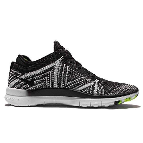 Nike Vrouwen Wmns Vrije Tr Flyknit, Zwart / Zwart-wit-volt, 10,5 Ons