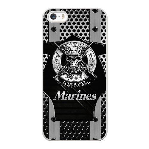 Coque,Apple Coque iphone 5/5S/SE Case Coque, Generic Usmc Marines Cover Case Cover for Coque iphone 5 5S SE blanc Hard Plastic Phone Case Cover
