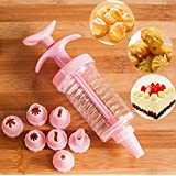 Woooow® Cake Decorating Kit - Set of 8 Icing Tips for Baking Supplies