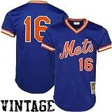 Dwight Gooden Mets 1986 BP Jersey Mitchell & Ness (XL/48)