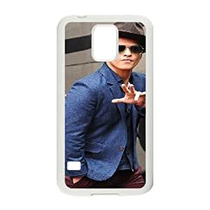 YUAHS(TM) Personalized Hard Back Cover Case for SamSung Galaxy S5 I9600 with Bruno Mars YAS121992
