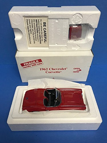 1962 Chevrolet Corvette Sleek Red Paint Danbury Mint 1/24 scale