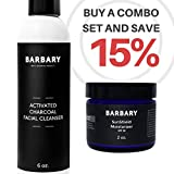 ULTIMATE Facial Wash Hydrating Bundle – Activated Charcoal Cleanser + Natural Avocado Antiaging Moisturizer – Essential Organic Treatment for Everyone Review