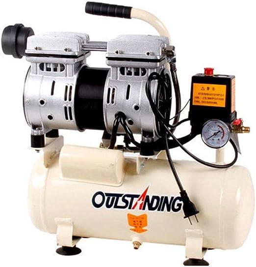 compresor de Aire silencioso Bomba de Aire pequeño Aire 550w-30L: Amazon.es: Hogar