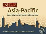 Asia Pacific 15 Days Unlimited Prepaid Data SIM Card, Japan, China, Hongkong, US, Australia, New Zealand, Macao, Taiwan, Singapore, Malaysia, Korea, Thailand