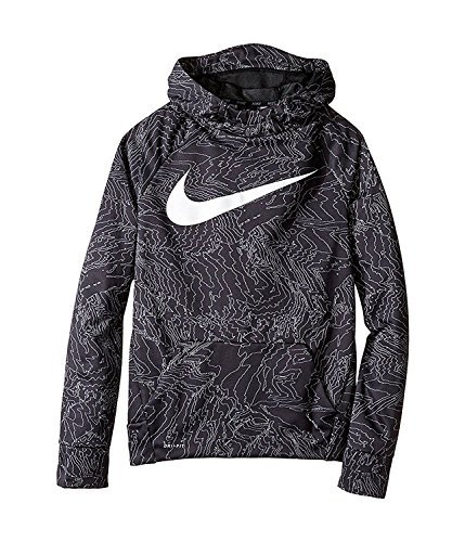 NIKE Therma Boys Printed Training Fleece Hoodie Pullover – DiZiSports Store