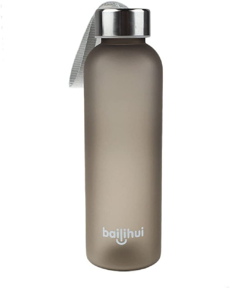 AGUIguo 水筒 漏れない フルーツ ジュース スポーツ ポータブル トラベルボトル 600ml