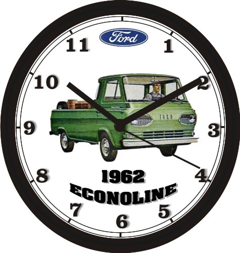 1962 FORD ECONOLINE TRUCK WALL CLOCK-Free USA Ship