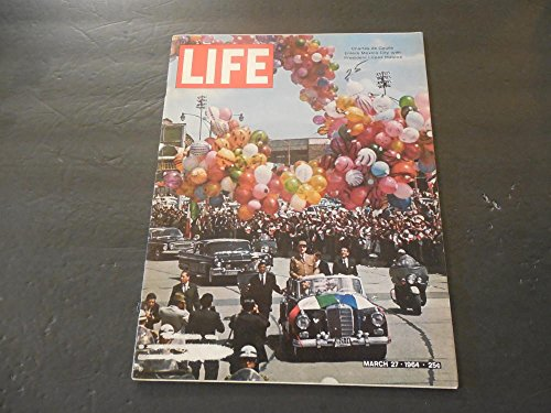 Life Mar 27 1964 Quick Anybody Got A (27 Shot Magazine)