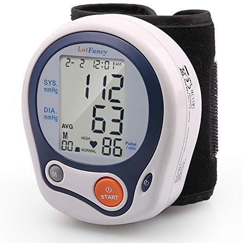 LotFancy Blood Pressure Monitor Cuff Wrist, Digital Blood Pressure Monitor (5