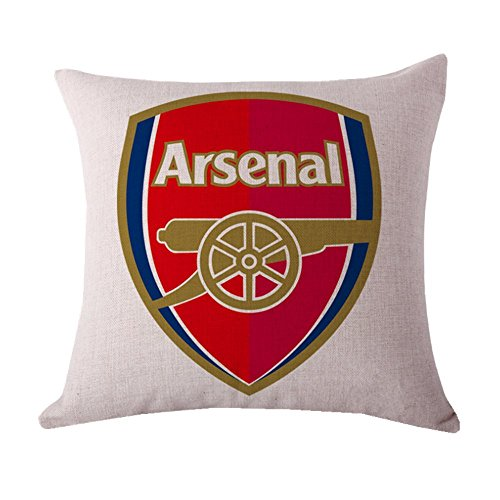 Arsenal Club - UHBHEA Arsenal Pillow Shams Home Soccer Club Throw Pillow Case Shell Decorative Pillows Inserts & Linen Covers Throw Pillow Covers 18
