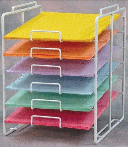 New 8.5 X 11 Inch 6-tier Scrapbook Paper Rack (Scrapbook Display)