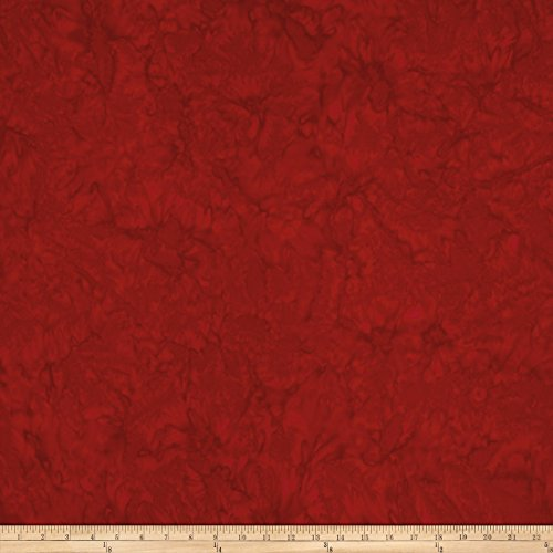 Anthology Batiks Lava Solid Heart Fabric by The Yard