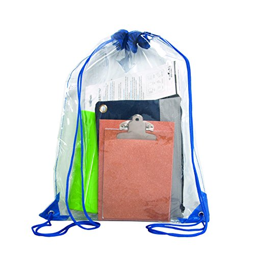 Bags for Less Clear Drawstring Bag, Small Clear Bag For Stadiums, Sporting Events - 14