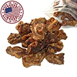 Sliced Pig Ears for Dogs, 1.5 lb bag (10 Pack) - Bulk Dog Dental Treats & Pork Chews, Made in USA, American Made
