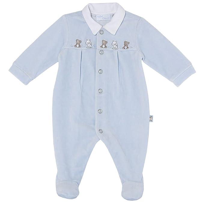 Chicco - Pelele - Básico - para bebé niño azul claro 44 cm: Amazon.es: Ropa y accesorios