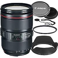 Canon 24–105mm f/4L IS II USM Lens (White Box) Bundle