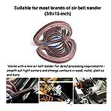 Aiyard 3/8 x 13-Inch Aluminum Oxide Sanding