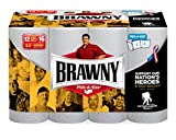 Health & Personal Care : Brawny Paper Towels, 12 Count Big Rolls, White
