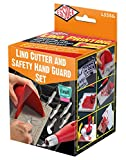 Essdee Lino Cutter and Safety Hand Guard Set, Red