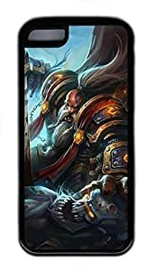 iphone 6 4.7 Case, iphone 6 4.7 Cases - Durable Protective Black Soft Rubber Back Case for iphone 6 4.7 World Of Warcraft Bitva Monster Utral Slim Soft Back Bumper Case for iphone 6 4.7