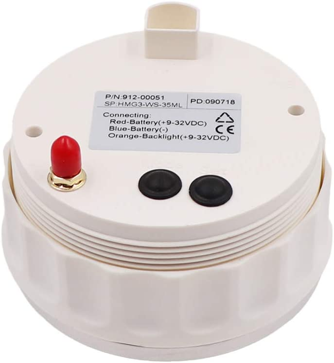MPH Gauge GPS Speedometer Odometer 0-80MPH 0-120KM//H Marine Speed Gauges with ODO COG Trip 7 Colors Backlight 9-32V 85MM