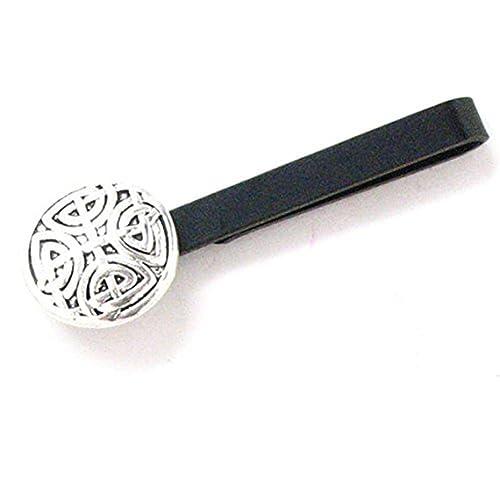 Amazon.com: Clips de corbata de cruz celta nórdico Swirl ...