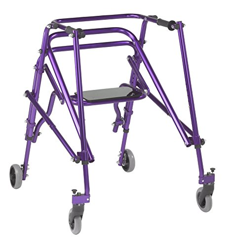 Inspired by Drive Nimbo 2G Lightweight Posterior Walker with Seat, Wiz