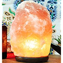 Himalayan Salt Lamp Large (6 - 8 Lbs / 8 - 9 Inch) By Yellow Tree Company (TM). Best Quality Pink Himalayan Salt Lamp.