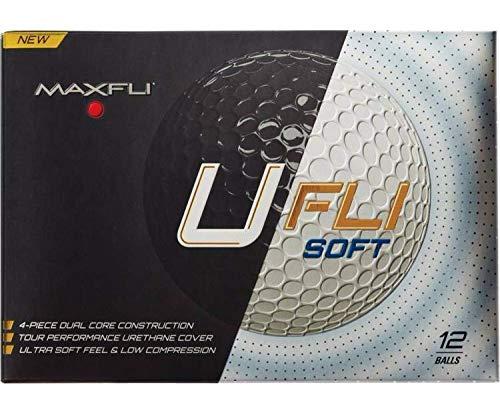 Maxfli Ufli Soft Golf Balls (12 Pack) by Maxfli Ufli Soft