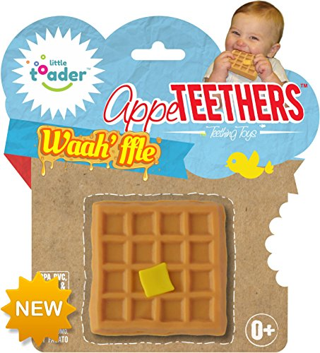 Little Toader Teething Toys, Waah'ffle -