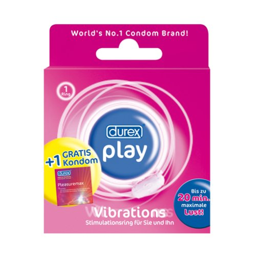 Durex Play Vibration, Vibrator Penisring