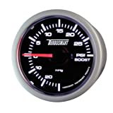 "Turbosmart TS-0101-2023 52 mm - 2-1/16"" 0-30 PSI Boost Gauge for Gated Boost Control Valves"