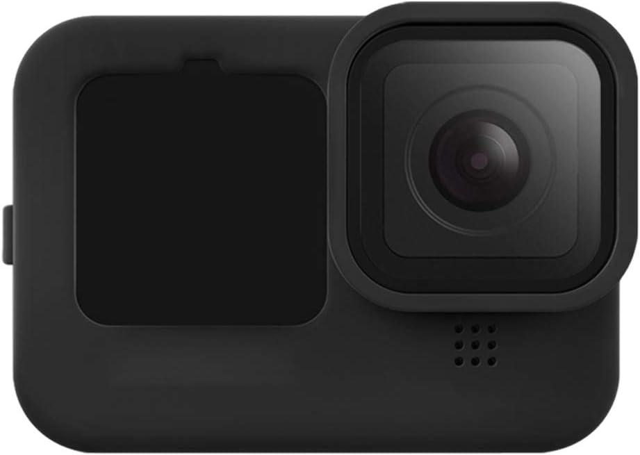Funda De Silicona + cordón + Lens Cover Gopro Hero 9 Black