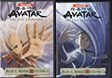 AVATAR The Last Airbender Book 1:Water Volume 1,2,3,4,5