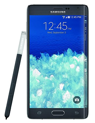 Samsung Galaxy Note Edge N915T 32GB (T-Mobile) Unlocked GSM 4G LTE 16MP Camera Smartphone w/ S Pen - Charcoal Black (Certified Refurbished) (Tmobile Note 4 Edge compare prices)