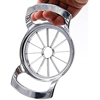 Wanleo Apple Slicer Cutter, Divider, Corer and Wedger with 12 Stainless Steel Blades