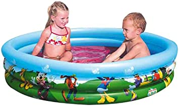 Color Baby - Piscina Hinchable Mickey Mouse Club House 122 X 25 Cm ...