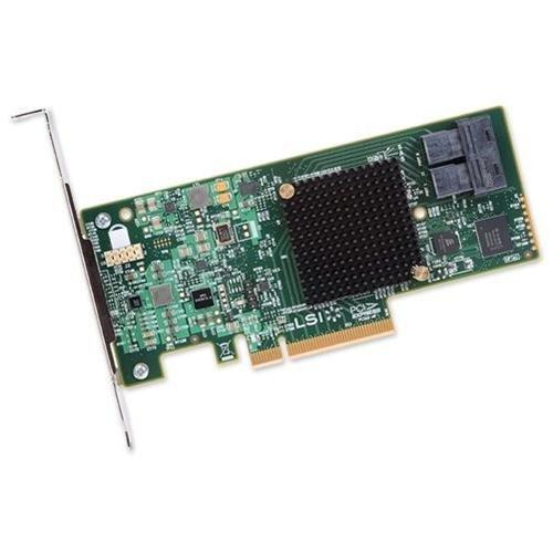 LSI Broadcom SAS 9300-8i Adaptador de bus de host de bajo...