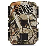 """Trail Camera Hunting Game Camera, 2018 Newest Motion Activated Night Vision up to 65ft, 12MP 1080P Full HD 2.4""""LCD Waterproof Wildlife Scouting Monitoring Home Security Camera, 88D Review"""