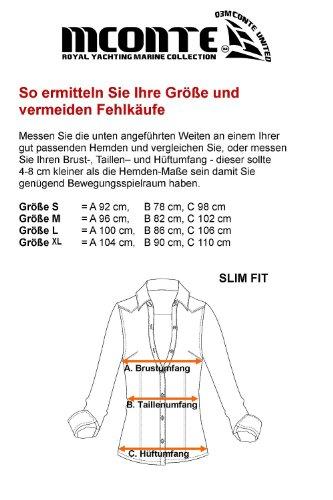 M.Conte camisa para mujer Lucrezia blanco